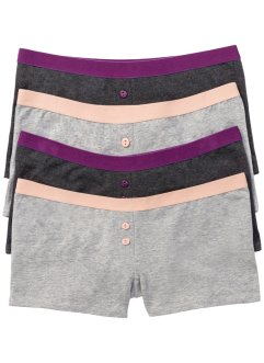 Damen Boxer (4er-Pack), bpc selection