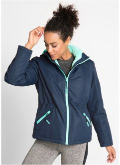 3-in-1-Funktions-Outdoorjacke mit Innenjacke aus Kuschelfleece, bpc bonprix collection