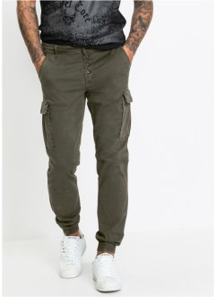 Stretch-Cargohose Slim Fit Straight, RAINBOW