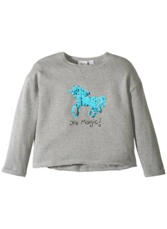 Sweatshirt mit Pailletten, bpc bonprix collection