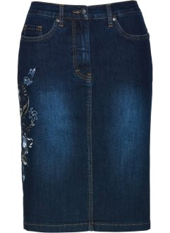 Jeansrock mit Stickerei, bpc selection