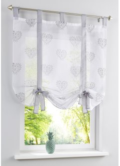 Bindegardine mit Herz Druck, bpc living bonprix collection