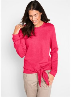 Sweatshirt mit Knoten, bpc bonprix collection
