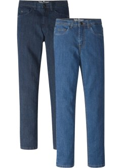 Slim Fit Jeans (2er-Pack), John Baner JEANSWEAR