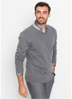 V-Pullover Regular Fit, bpc selection