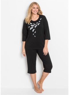 Capri Pyjama 3/4 Arm, bpc bonprix collection