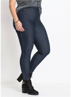 Leggings in Jeansoptik mit Zipper, RAINBOW