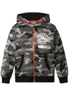 Sweatjacke mit Camouflagedruck, bpc bonprix collection