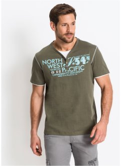 2-in-1-T-Shirt Regular Fit, bpc selection