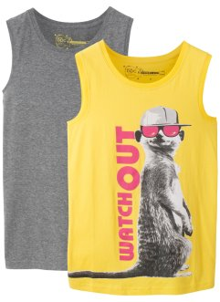 Tanktop (2er-Pack), bpc bonprix collection