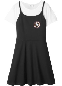 T-Shirt + Kleid (2-tlg.), bpc bonprix collection