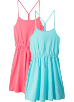 Sommerkleid (2er-Pack), bpc bonprix collection