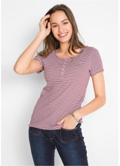 Ribshirt mit Knopfleiste, bpc bonprix collection