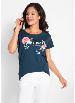 Shirt mit Blumendruck, bpc bonprix collection