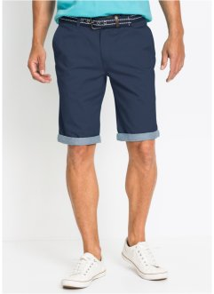 Chino-Bermuda mit Umschlag Regular Fit, bpc bonprix collection