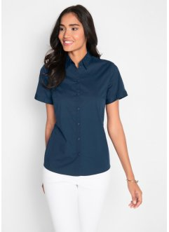 Stretchbluse, Kurzarm, bpc bonprix collection