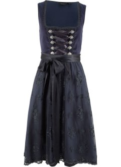 Dirndl in Samt - Optik, bpc bonprix collection
