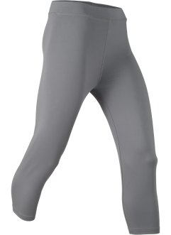 Sport-Capri-Leggings, 3/4-Länge, Level 1, bpc bonprix collection