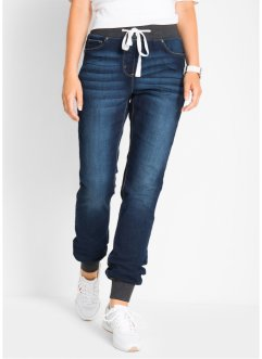 Boyfriend-Stretch-Jeans mit Bequembund, bpc bonprix collection