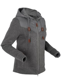 Langarm-Strickfleecejacke, bpc bonprix collection