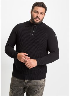 Troyer-Pullover Regular Fit, RAINBOW