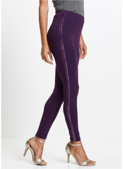 Leggings mit Samtstreifen, bpc selection