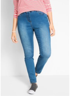 Hoch geschnittene Power-Stretch-Jeansleggings, bpc bonprix collection
