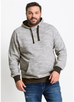 Meliertes Sweatshirt mit Kapuze, bpc bonprix collection