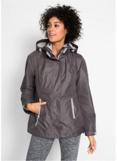 3-in-1-Funktions-Outdoorjacke mit Kapuze, bpc bonprix collection