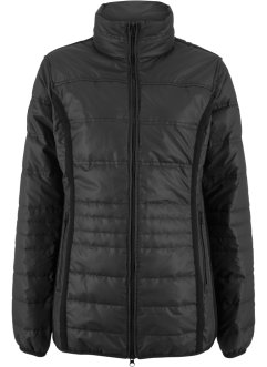 Steppjacke mit Ripp-Einsatz, bpc bonprix collection