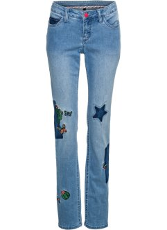 Jeans mit Patches, RAINBOW