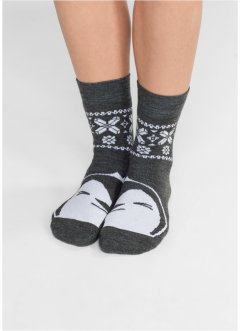 Thermo Socken mit Motiv (2er-Pack), bpc bonprix collection