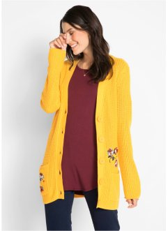 Strickjacke mit Stickerei, bpc bonprix collection