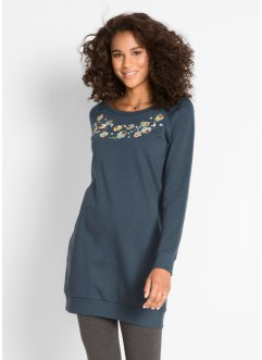 Sweatkleid mit Stickerei, bpc bonprix collection