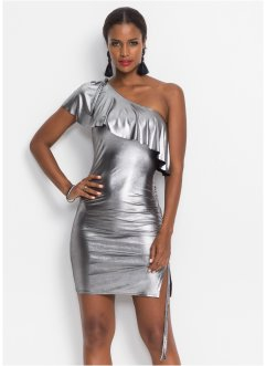 Kleid in Metallic-Optik, BODYFLIRT boutique