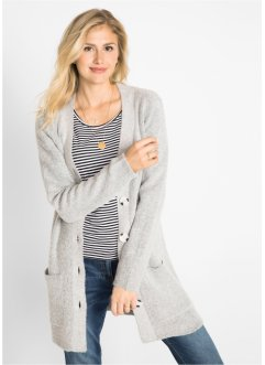 Langarm-Strickjacke, bpc bonprix collection
