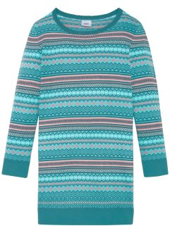 Strickkleid mit Norwegermuster, bpc bonprix collection