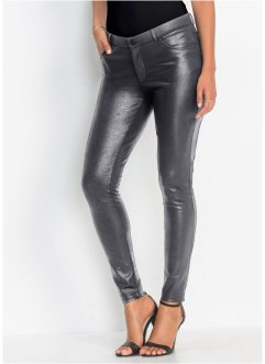 Jersey-Hose in Metallic-Optik, BODYFLIRT