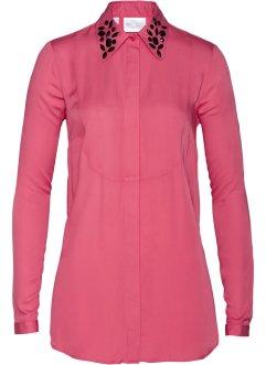 Premium Long-Bluse mit Glitzersteinen, bpc selection premium e0215f5f4b