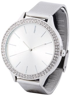 Uhr mit Swarovski® Kristallen, bpc bonprix collection