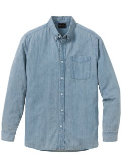 sale herrenmode g�nstig kaufen bonprix  jeanshemd regular fit, bpc selection