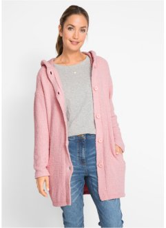 Flausch-Longstrickjacke, bpc bonprix collection