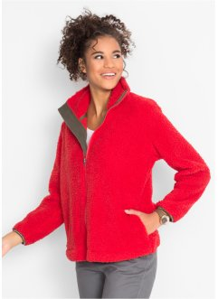 Teddy-Fleecejacke, bpc bonprix collection