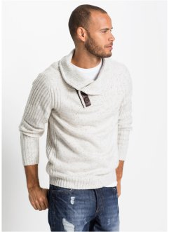 Pullover mit Schalkragen Regular fit, RAINBOW