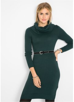 Strickkleid mit Rollkragen, bpc bonprix collection