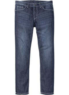 Jeans mit Kontrastnähten Slim Fit Straight, RAINBOW