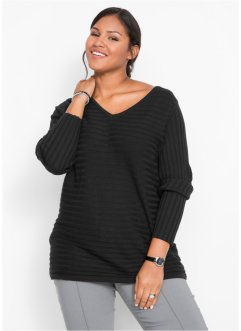 Ripp-Pullover, bpc bonprix collection