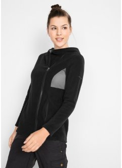 Fleecejacke mit Mesh-Einsatz, bpc bonprix collection