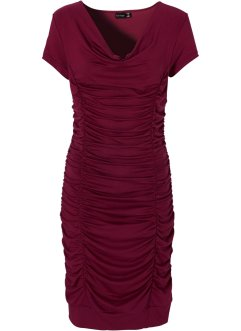 Stretch-Kleid mit Raffung, BODYFLIRT