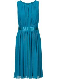 Kleider mit spitze blau knielang